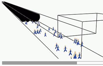 トンネル火災と避難の数値シミュレーション