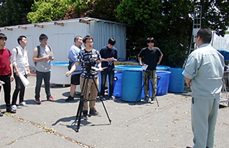 地域経済学科の学生が栃木県那珂川町のPR動画を制作