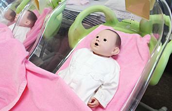 乳幼児モデル人形
