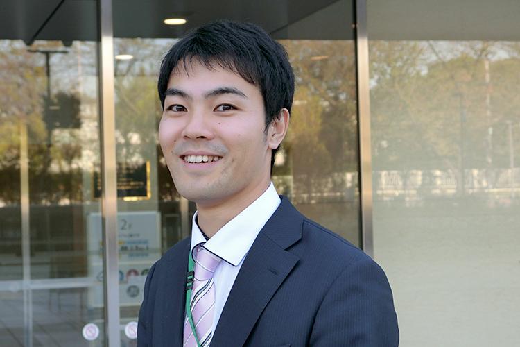 板橋キャンパス 総務課 住谷和樹さん (2014年入職)
