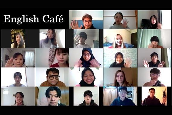 オンラインEnglish Cafeを実施しました