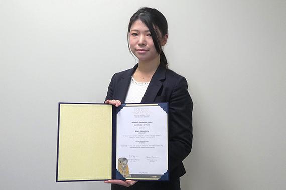 松島助手がEuropean Congress of Radiology 2021で学会賞を受賞しました