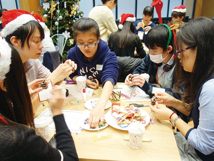 留学生クリスマスパーティー04