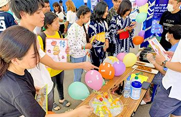 三竝ゼミがカンボジアの王立プノンペン大学で開催された絆フェスティバルに参加しました