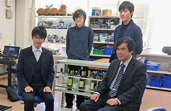 蓮田研究室が発明・工夫作品コンテストで5年連続「学会長賞」を受賞しました【理工学部】