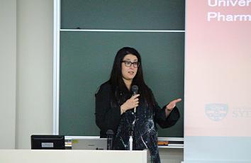 シドニー大学の先生による講演会を開催しました【薬学部】