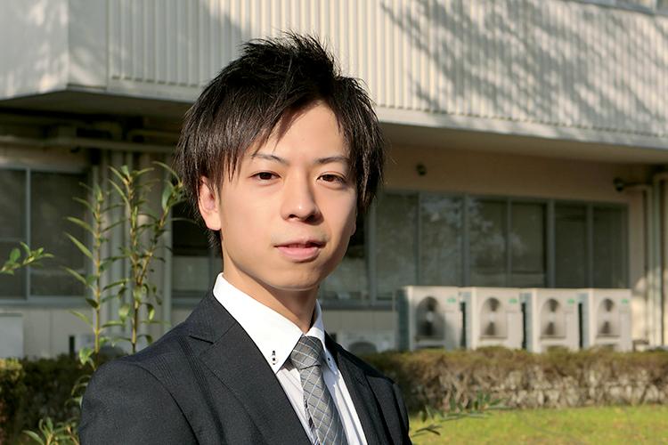 宇都宮キャンパス 総務グループ 生出尚也さん (2013年入職)