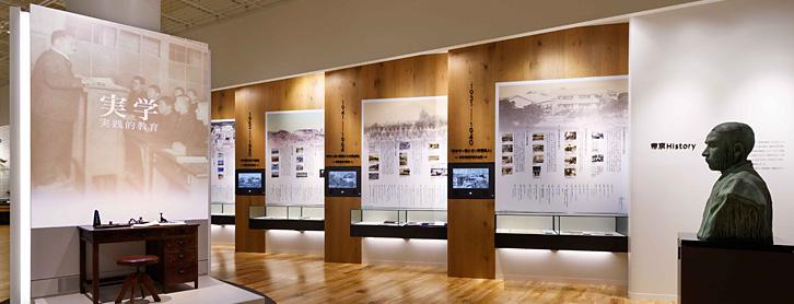 博物館の内観