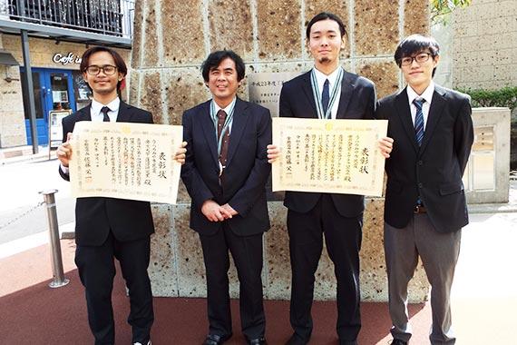 蓮田研究室とロボラボがうつのみや市民賞を受賞しました