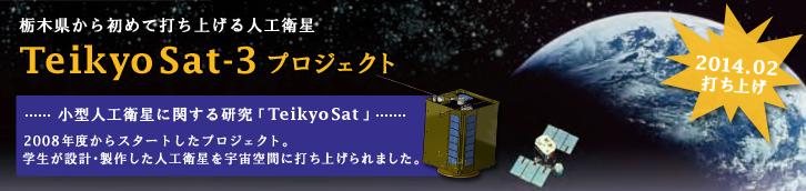 人工衛星『TeikyoSat』