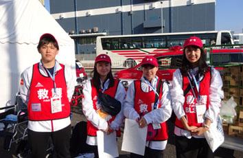 東京マラソン・横浜マラソンでのボランティア活動
