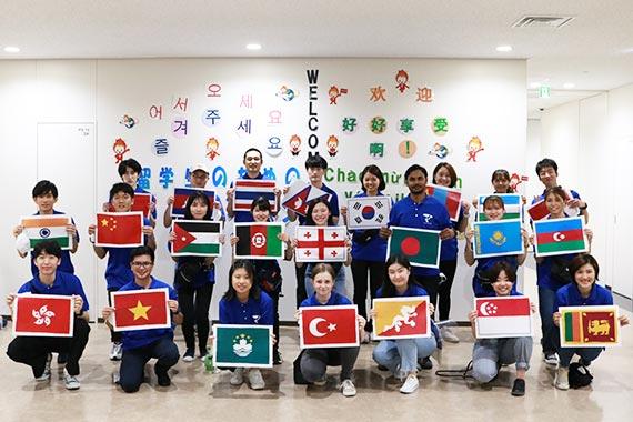 外国人留学生のためのオープンキャンパスを実施します
