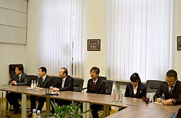トビリシ国立大学と学術交流協定を締結しました