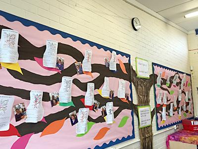 PSHEの取組「BLOB TREE」