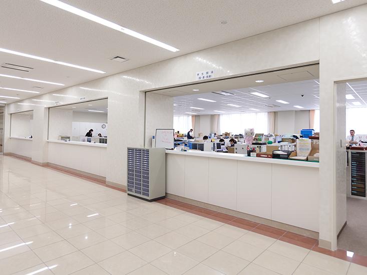 事務室(医学部・薬学部・医療技術学部)