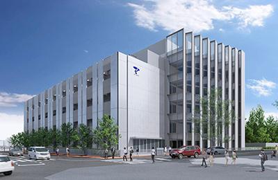 先端総合研究機構の建物外観