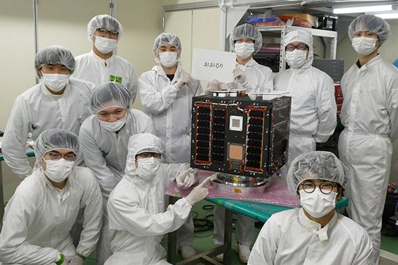 TeikyoSat-4の打上げ予定日が10月1日に決定しました