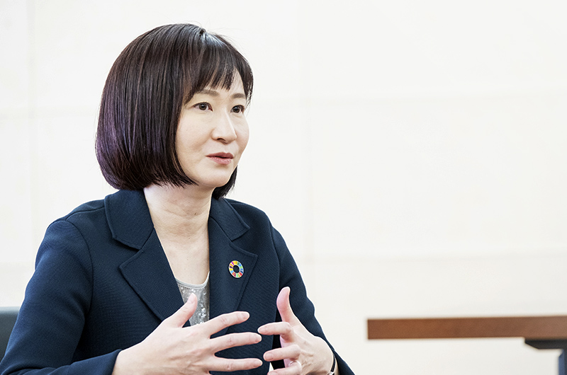 冲永 寛子センター長の写真