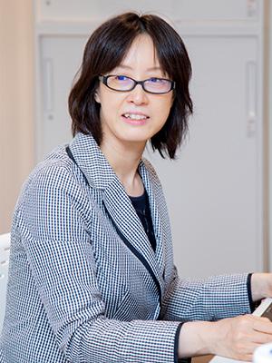 大江朋子教授の写真