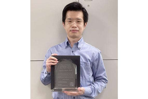 高田助教が第5回Interventional Radiology優秀論文賞を受賞しました