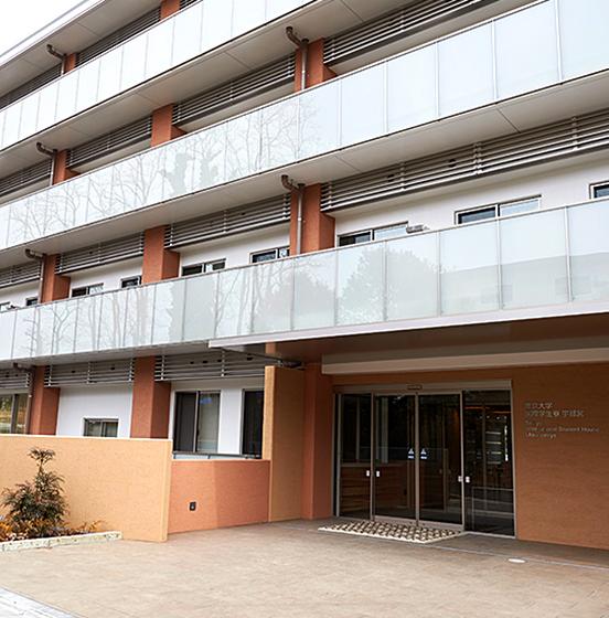宇都宮キャンパスの国際学生寮