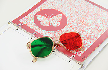 赤緑眼鏡、色覚検査
