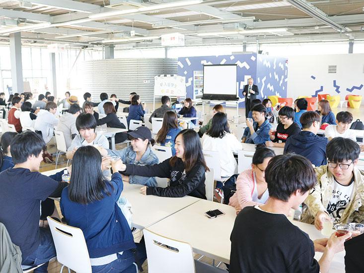 新入留学生歓迎会01