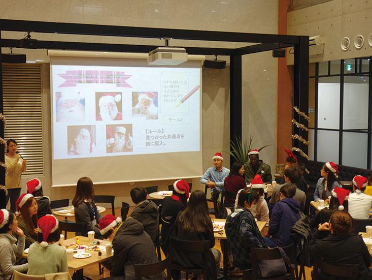 留学生クリスマスパーティー01