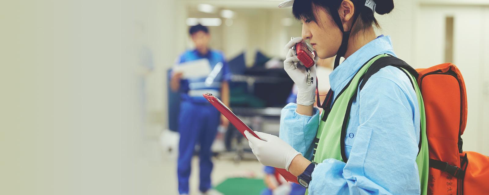 スポーツ医療学科 救急救命士コース