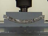 ハニカム構造体の曲げ加工