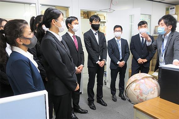 留学生のためのキャリア教育プログラムを実施しました【八王子キャンパス】
