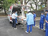 救急車同乗実習