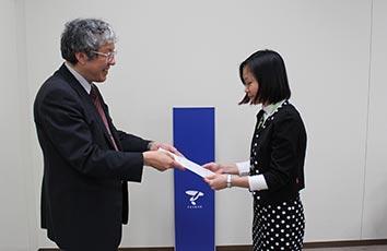 国費留学生の秋入学式を挙行しました【医学研究科】