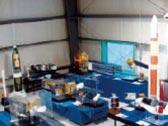 JAXAロケットと衛星モデル