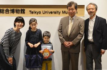 入館者が10万人を突破しました【帝京大学総合博物館】