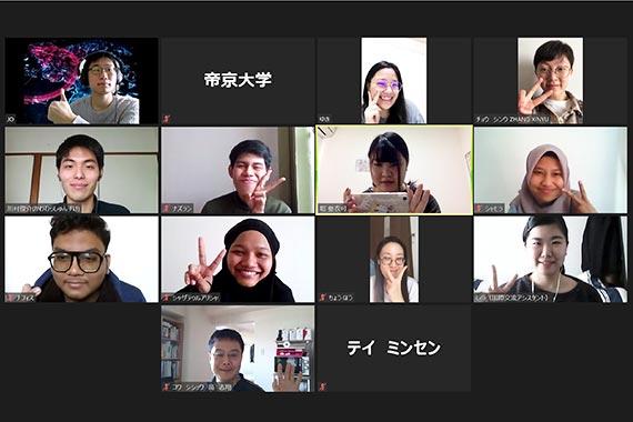 オンライン日本語ラウンジを実施しました