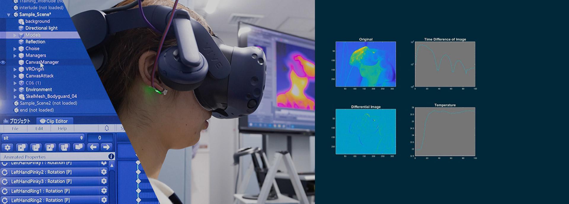 VRで人と人の出会いを再現し心、体、行動の関係を解き明かす