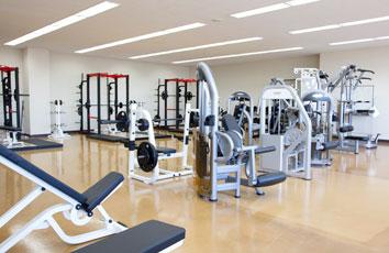 トレーニングルーム(体育館内)