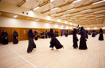 武道館剣道場
