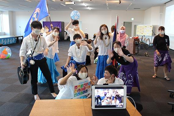 帝京オンライン国際交流フェスティバル2020を開催しました【八王子キャンパス】