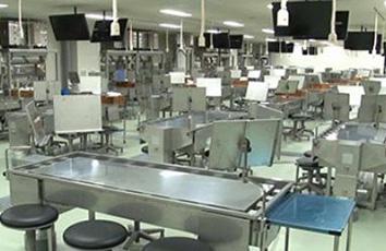 解剖学実習室