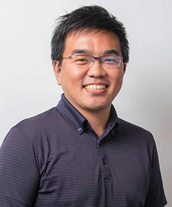 畑中 洋亮 講師の写真